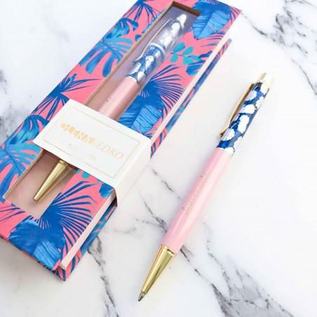 "Подарочная ручка ""Pink Monstera"""