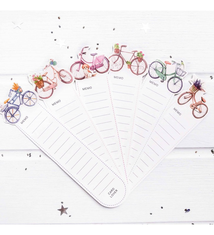 """Набор закладок """"Велосипеды"""" 3"""