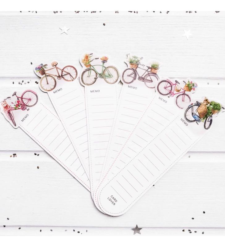"""Набор закладок """"Велосипеды"""" 5"""