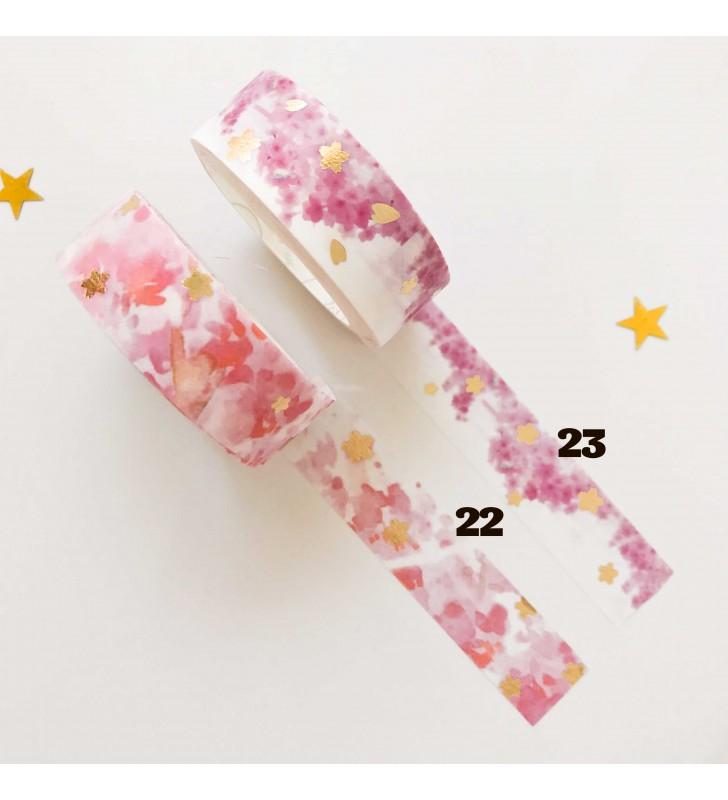 """Скотч """"Японские цветы"""""""
