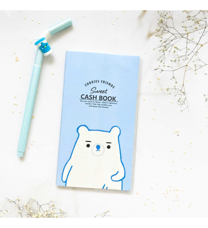 "Cash Book ""Sweet"" blue"