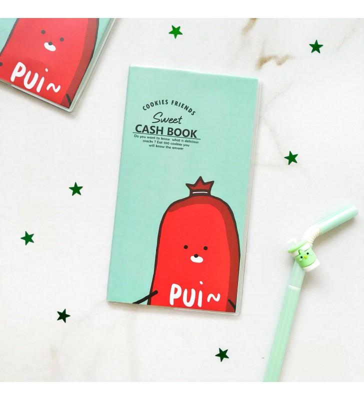 """Cash Book """"Sweet"""" mint"""