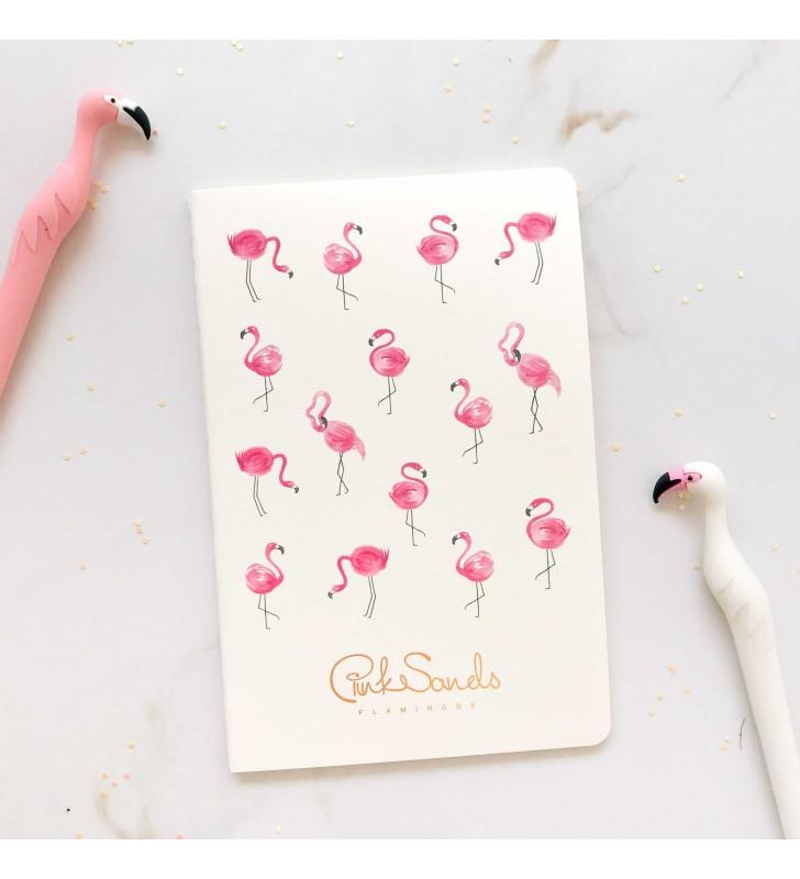 """Блокнот в линию """"Flamingos"""" pattern"""