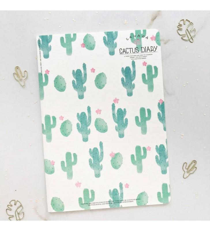 """Блокнот в линию """"Cactus"""" pattern"""