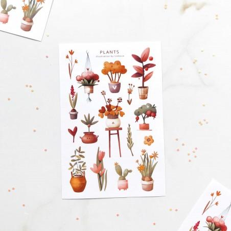 "Наклейки ""Plants"""