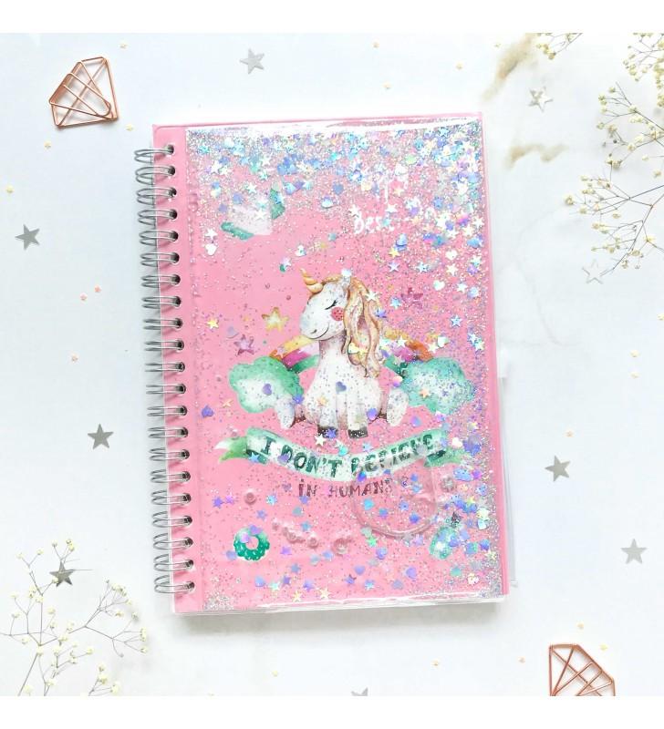 """Недельный планер """"Unicorn"""" pink с жидкостью"""