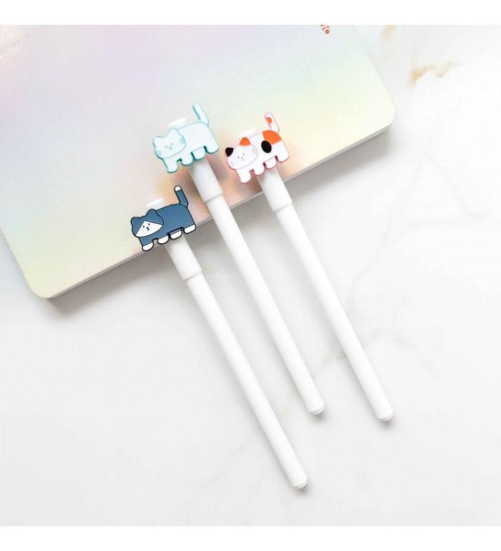 "Ручка ""White cats"""