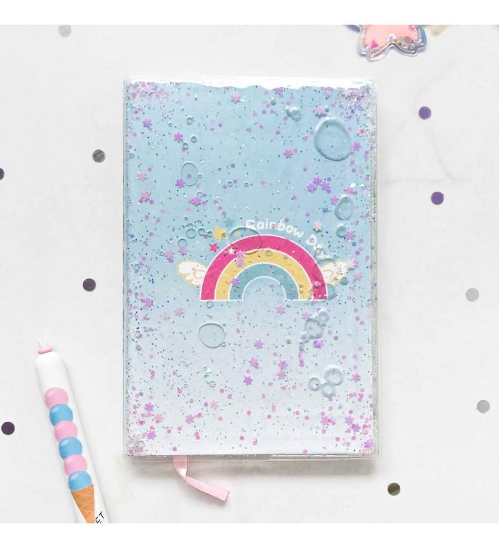 """Недельный планер """"Rainbow"""" с жидкостью"""