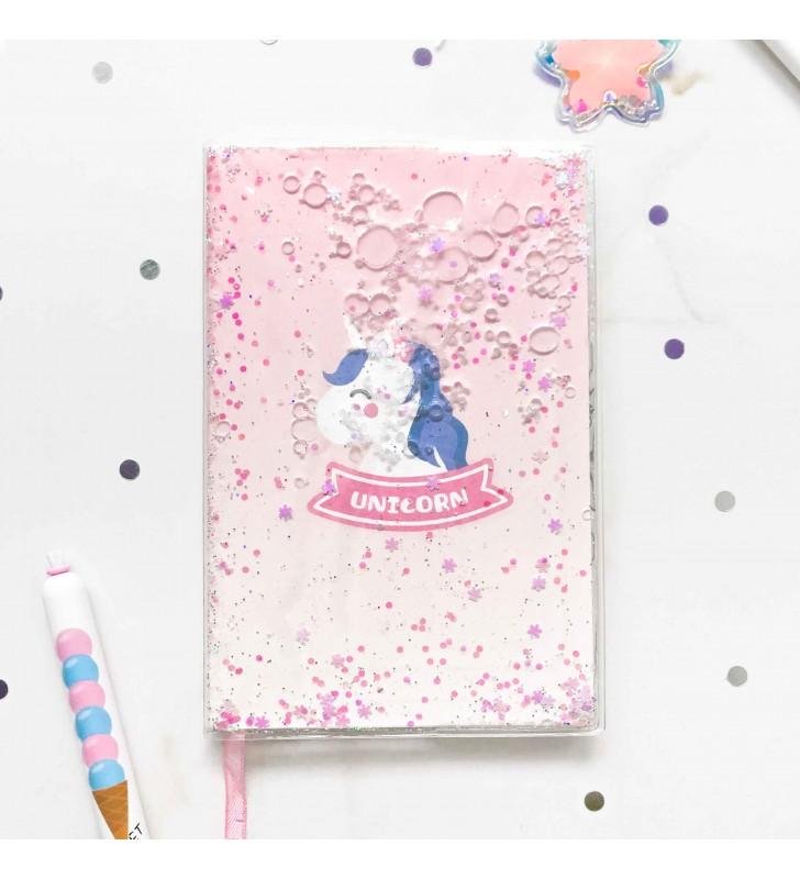 """Недельный планер """"Pink Unicorn"""" с жидкостью"""