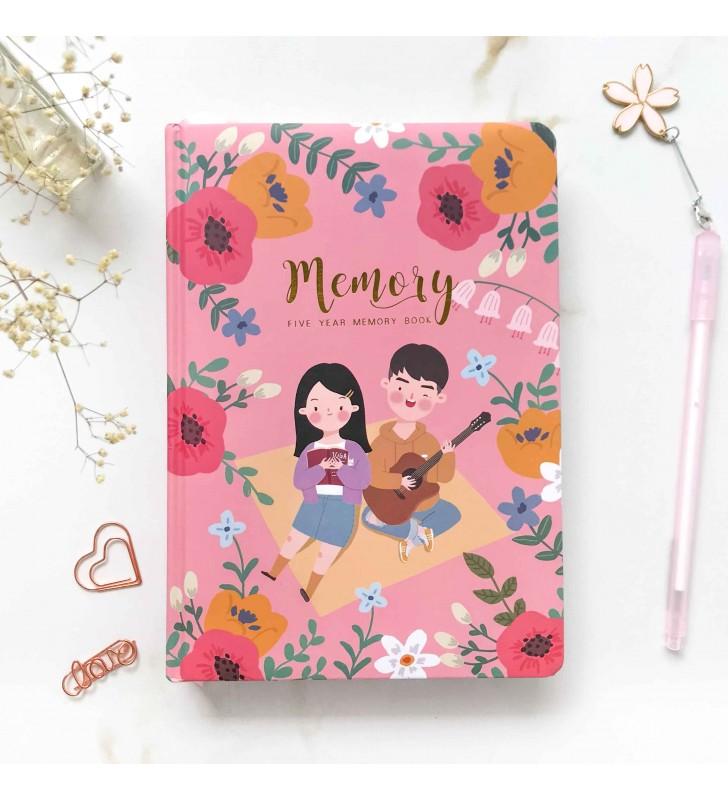 """Личный дневник """"Memory Book"""" pink"""