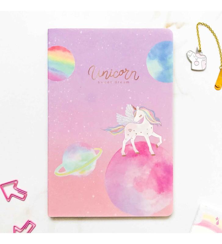 "Блокнот в линию ""Unicorn universe"" 4"