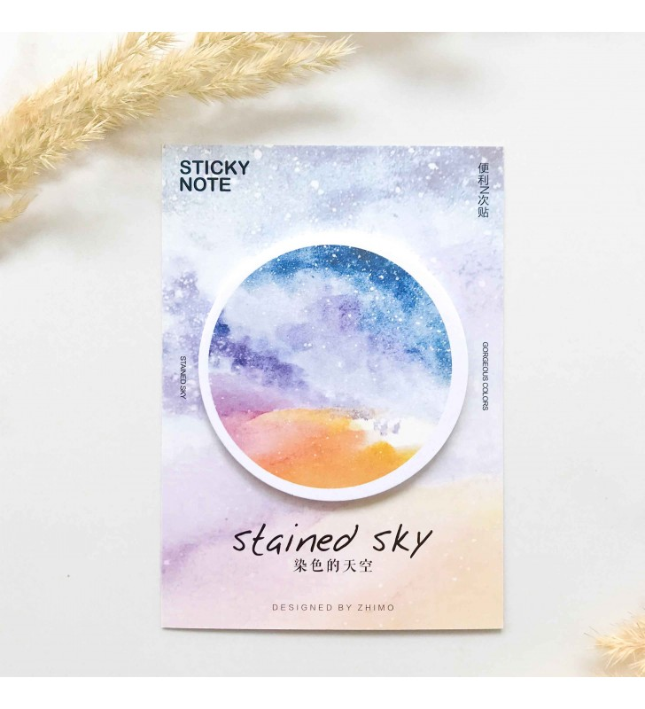 "Стикеры ""Stained sky"" multicolored"