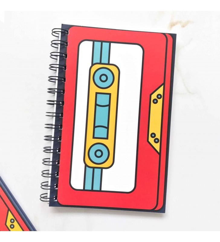 """Блокнот в клеточку """"Cassette"""""""