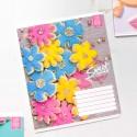"""Тетрадь =12 """"Sweet"""" цветочки"""
