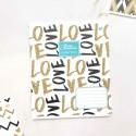 "Тетрадь =12 ""Pattern"" love"