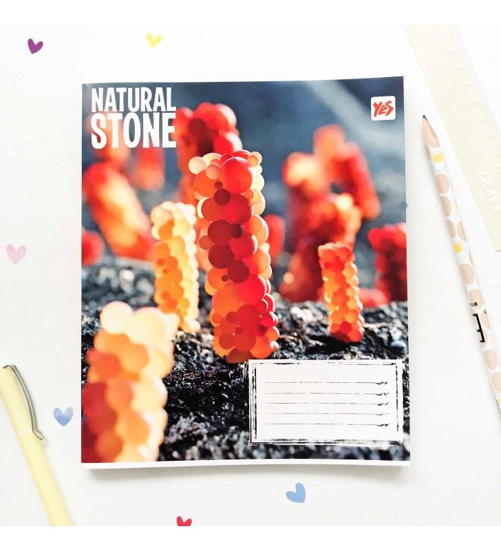 """Тетрадь #24 """"Stone"""" orange"""