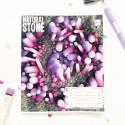 "Тетрадь #24 ""Stone"" violet"