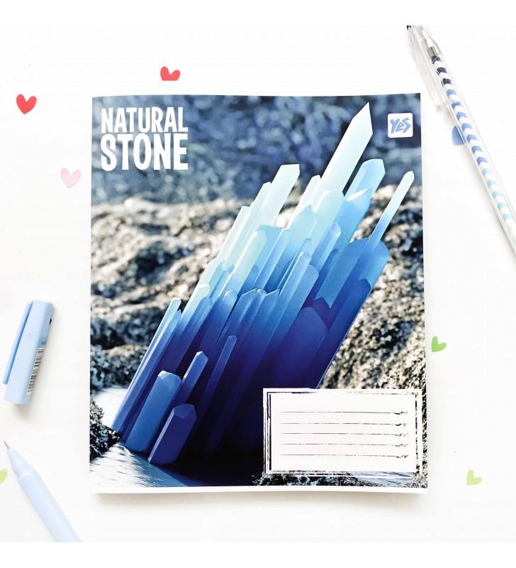"Тетрадь #24 ""Stone"" blue"