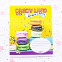 "Тетрадь #18 ""Candy land"" macarons"