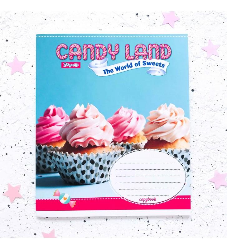 "Тетрадь #18 ""Candy land"" cupcake"