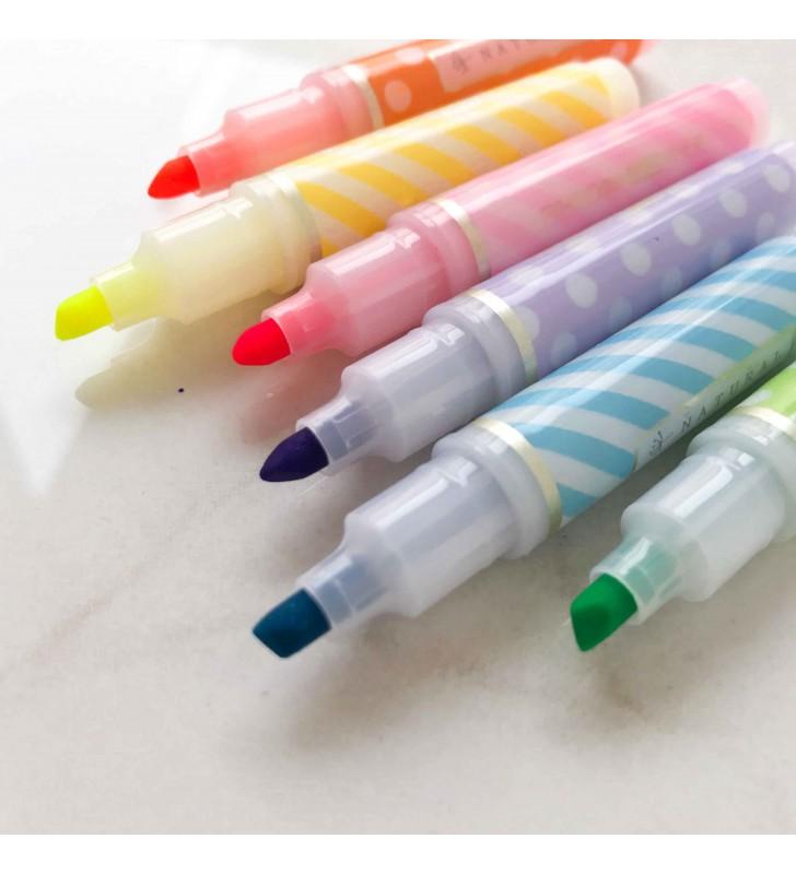 Набор разноцветных маркеров