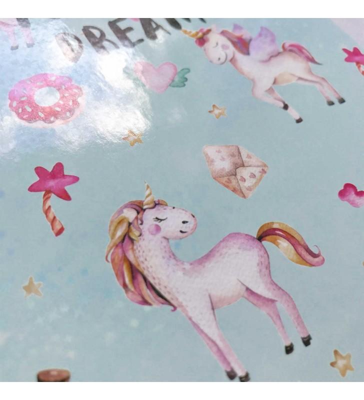 """Недельный планер """"Unicorn"""" mint с жидкостью"""