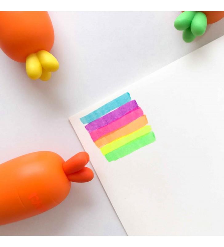 """Разноцветные маркеры """"Морковки"""""""