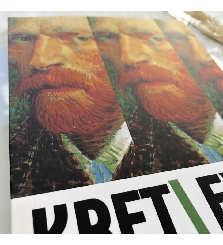 """Блокнот в точку """"Kraft Eyes"""" Van Gogh"""