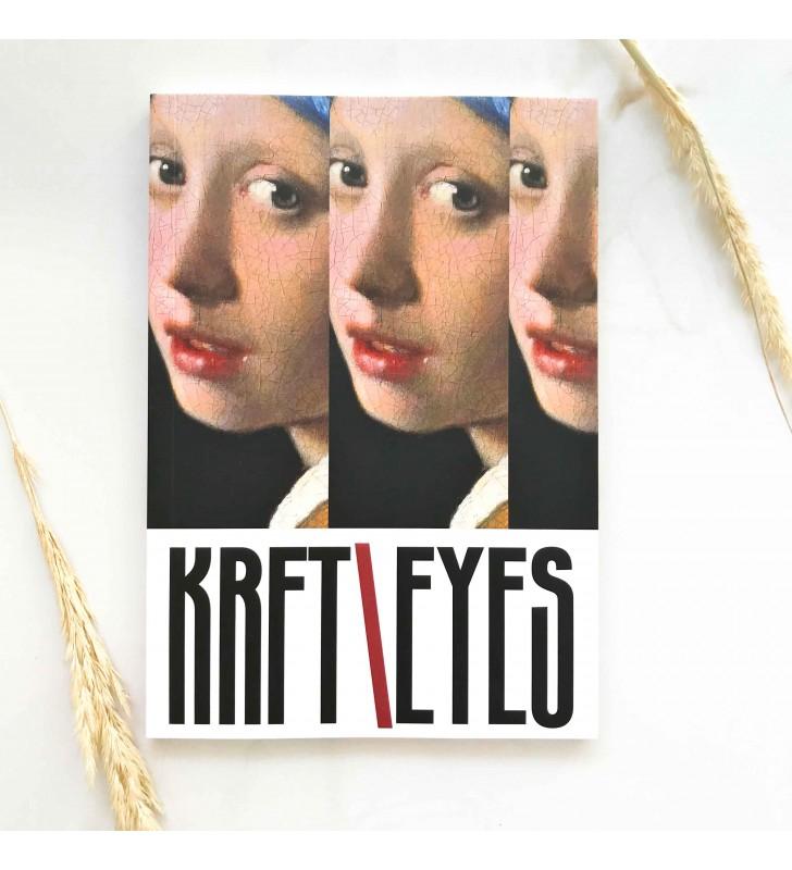 """Блокнот в точку """"Kraft Eyes"""" Девушка с жемчужной серёжкой"""