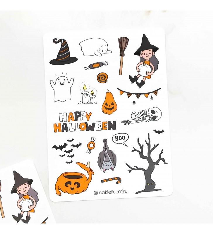 "Наклейки ""Halloween hat"""