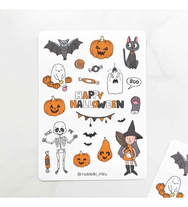 """Наклейки """"Halloween bat"""""""