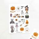 "Наклейки ""Halloween pampking"""