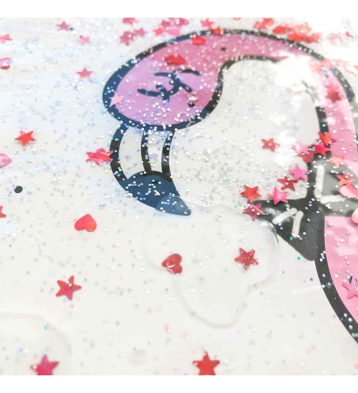 """Недельный планер """"Flamingo"""" white с жидкостью"""