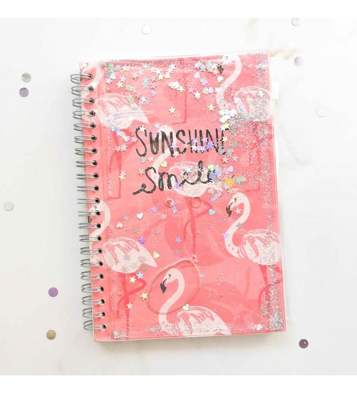 """Недельный планер """"Flamingo"""" pink с жидкостью"""