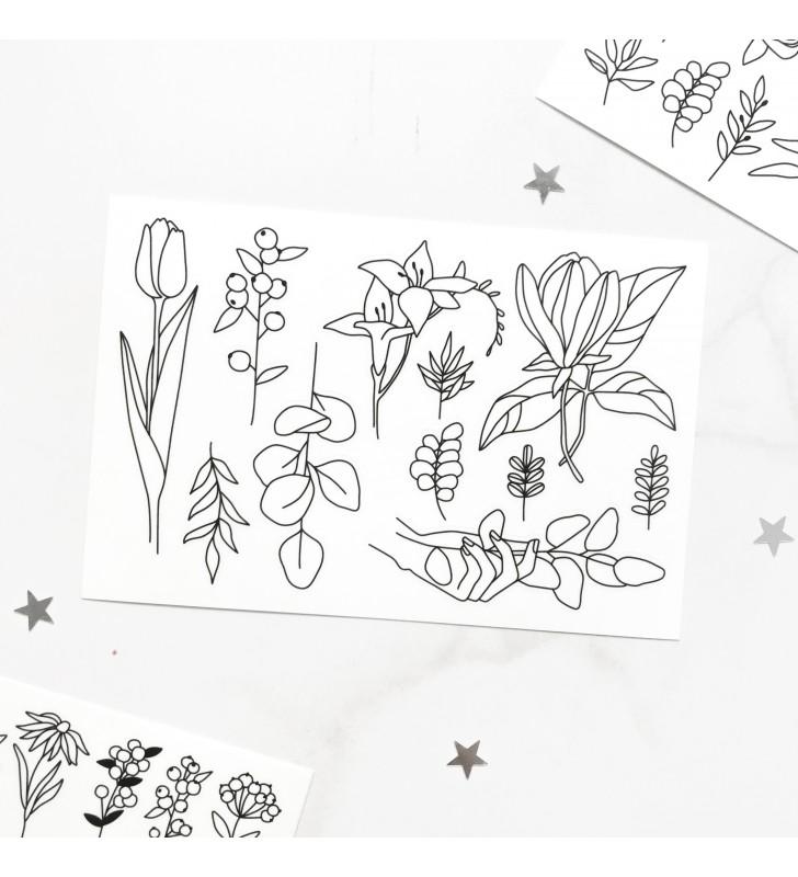 "Наклейки ""Flowers"" 7"
