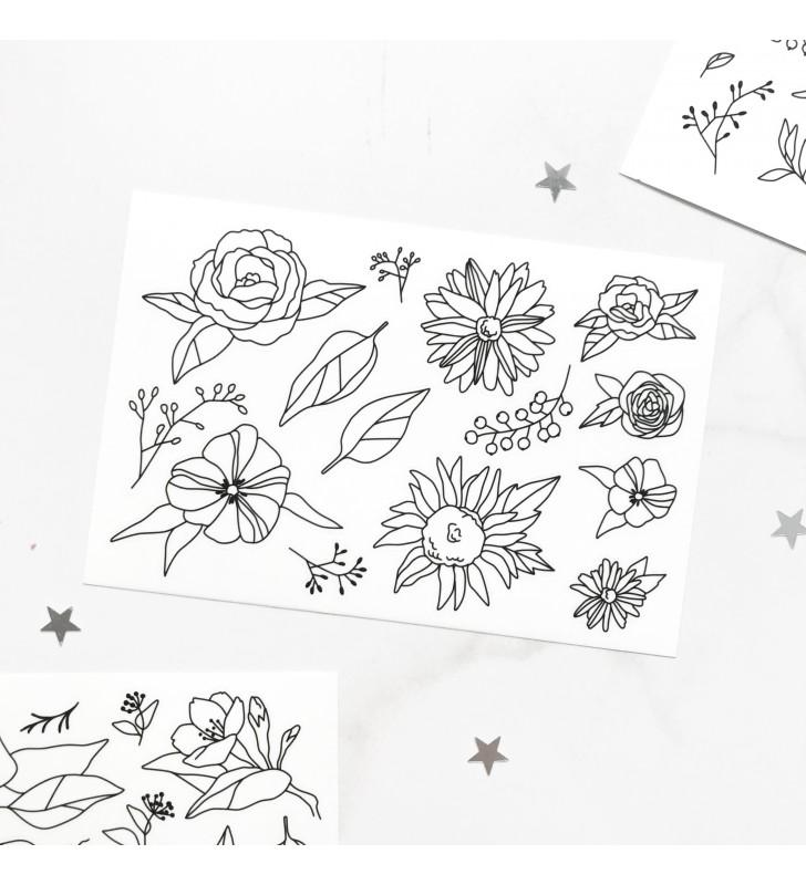 "Наклейки ""Flowers"" 8"