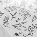 "Наклейки ""Flowers"" 2"