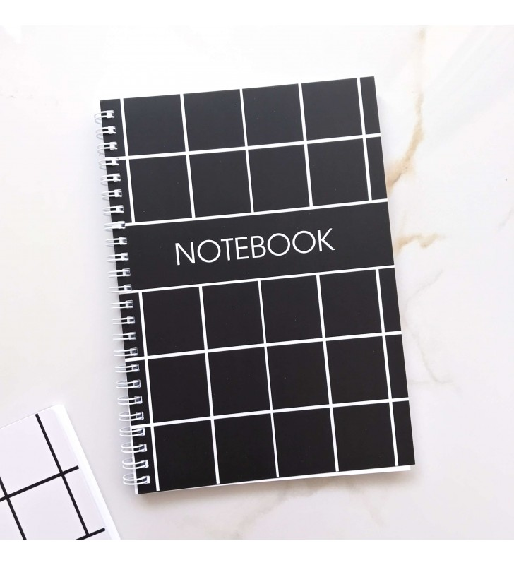 """Блокнот в клеточку """"Notebook black"""""""
