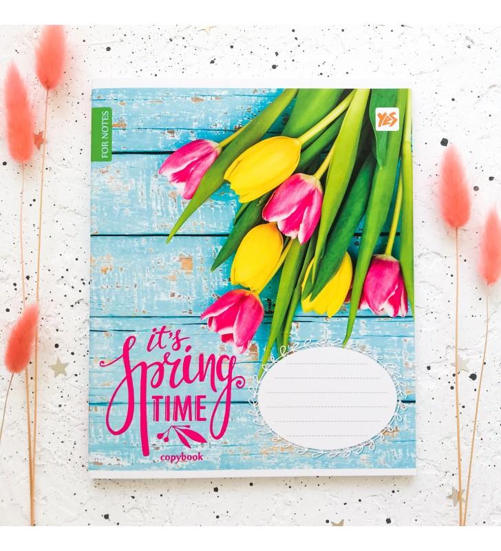 """Тетрадь #96 """"Spring time"""" rose flower"""