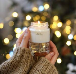 декоративные свечи с запахом